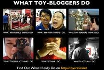Toy-Bloggery / by toysrevil