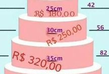 preços de bolos