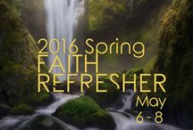 2016 Spring Faith Refresher / Please join Sr. Pastor Kevin S. Rogers for the 2016 Spring Faith Refresher.   Friday May 6th  Saturday May 7th  Sunday June 8th   Location: City of Faith Christian Center 11011 Occident St. SW. Lakewood WA 98499  Live Streaming  @ www.cityoffaithcc.org