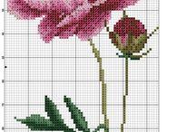 Цветы_вышивка