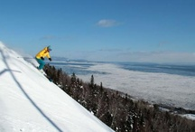 Skiing Le Massif Quebec