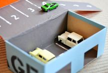 Cool Cardboard Ideas for Kids / Fun building projects with shoeboxes, cardboard, and other items around the home