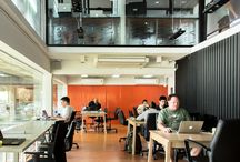 Co-working & Co-living Spaces for Digital Nomads / Locations perfect for digital nomads and entrepreneurs who run their businesses remotely from exotic offices and spaces!