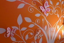 Ideas for Abby's room / BUTTERFLIES :)