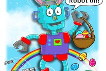 robot hire - easter 2018