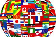 Banderas del mundo / by Anabelle Lugo