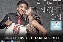 Ideal Date Night Around Historic Lake Merritt / 1. Like Shift Local's FB Page - facebook.com/shiftlocal 2. Post your Ideal Date Night with hashtag #idealdatenight 3. Post with the most likes wins our Grand Prize!!  Plus so much more!!! / by Shift Local
