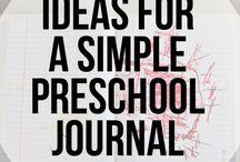 Toddler's journal