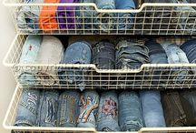 Kleiderschrank Ordnung