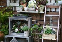 Garden deco idea