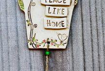 Keramikk til vegg/oppheng