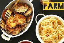 Auberginen Parmesan