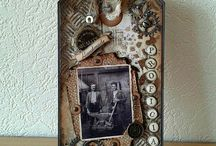 My Mixed Media Art, Cards & Projects / By me