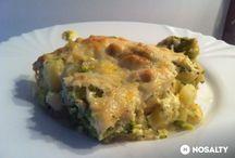 Rakott brokkolis csirkemell