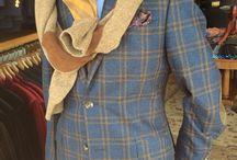 Rhodes-Wood Tweed Jackets/ Sportscoats