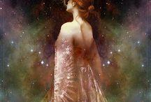 Mythos / Gods, Goddesses, Heroes, Fairytales, Myth, Pagan...etc  / by Carmen C
