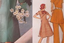 Vintage Vogue Designer Patterns / Because you can make your own couture!