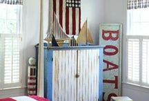 Nautical | Patriotic | Home / by Seaside Simplicity
