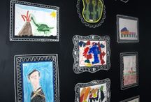 Displaying Children's Artwork at Home