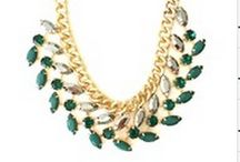 Green Necklaces / Spring 2014