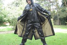 RUBBER wet leather Latex Pee