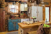 Primitive Love / Primitive furniture and style will always be a special favorite of mine.