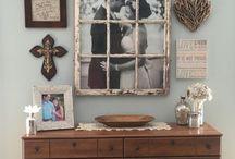 Frame for mirror or photos