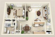 apartment/house plans
