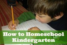 Homeschool - Kindy