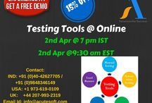 Testing Tools Online LIVE FREE DEMO from Acutesoft with 2 months FREE Server Access