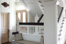 Staircase Inspiration board by J.S. Brown & Co.