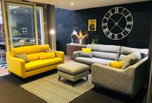 Colours-YELLOW! / WOW! Yellow is such a great addition to home décor.  The vibrant colour looks great paired with blue, grey or even brown. Beautiful bright tones which is great for spring and summer.