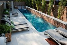 Concrete Pools / Beautiful concrete pools designed and built by Gib-San Pools - see more at http://pooldesignandbuild.ca/pool-design/concrete-pool-design