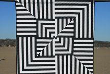 Op art quilts