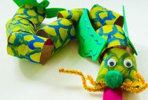 Around the World: China / Here are some crafts inspired by China.  Check out Green Kid Crafts products on http://www.GreenKidCrafts.com