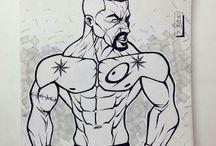 sketches / Original sketches