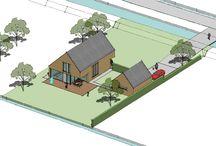 Passiefhuis / Momenteel zijn wij drug bezig om een passiefhuis te ontwerpen in een landelijke gebied (het groene hart)
