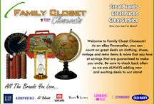 Family Closet Closeouts Store / by Peg Honabach