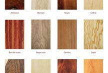 textures de bois