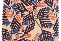 Art of: MATERIAL DESIGN / Material doesn't have to be plain. As history shows design on cloth has been an intrinsic decorative part of all cultures.