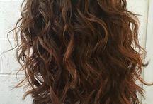 my wavy hair pins