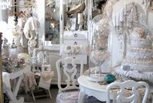 Whites & Neutral Antique Booths