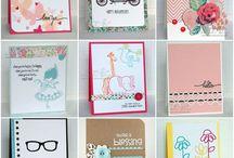 9 easy card making ideas in 15mins