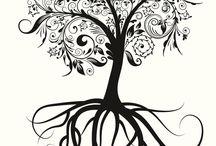 árbol de la familia