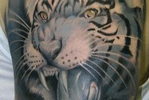Tattoos with Big Cats
