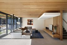 Eco Outdoor Interior ideas / a few ideas on how to incorporate natural stone into your interior spaces