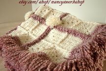 Crochet ~ Afghans/Blankets / by Eve Slacum-Myers