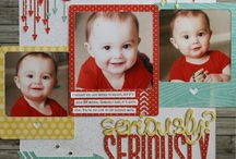 Top scrapbooking pages - traditional / Pages I would like to copy