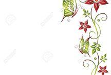 borde de flores