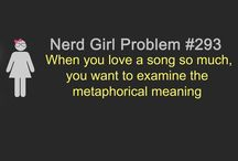 Nerd Girl (my style) / by Catty Han